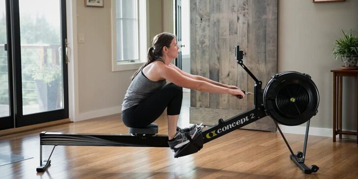 Concept2 rowing machine model d review