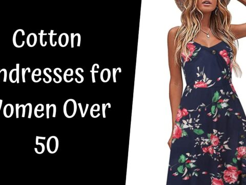 Cotton Sundresses for Women Over 50